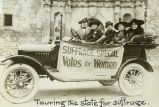 Touring the State for Suffrage