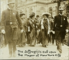 [Suffragists at City Hall]