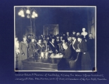 Governor of Kentucky Signing the Woman Suffrage Ammendment