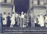 [Suffrage Rally]