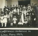 Conference-audience in Lima, Peru