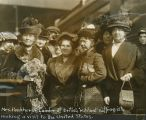 Mrs. Pankhurst, Leader of British 'Militant suffragists'