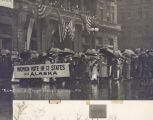 Rainy Day Suffrage Parade