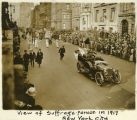 View of Suffrage Parade in 1917 New York City