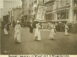 Banner Bearers in Suffrage Parade