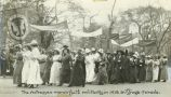 Actresses in the Suffrage Parade