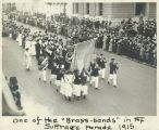 Brass-band in the Suffrage Parade