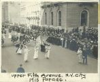 Suffrage Parade at Upper Fifth Avenue