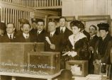 Governor and Mrs. Whitman Voting
