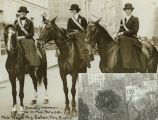 Society Women Ride in Suffrage Parade