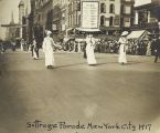 Suffrage Parade New York City 1917