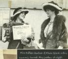 Miss Esther Abelson Selling Woman's Journal